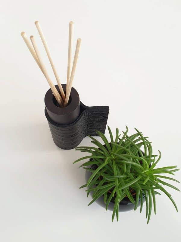 mini koker rituals zwart scaled - Mini koker Rituals croco zwart