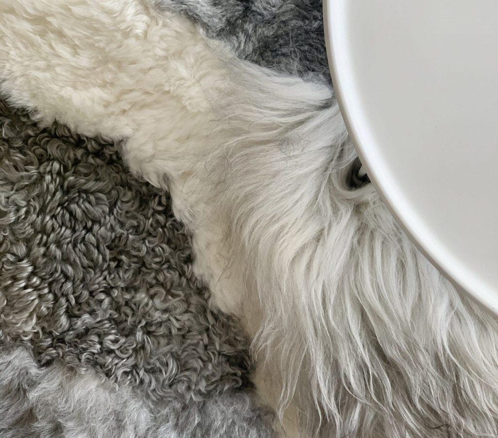 schapenvacht tapijt